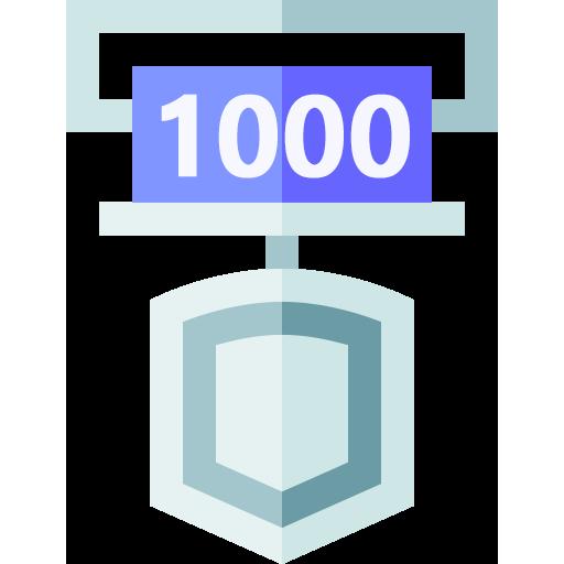 1000 Point 돌파하여 Level 3 [은메달] 등급이 되었습니다